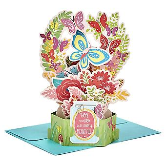 Hallmark Papir Wonder Fødselsdag Blomster 3d Pop Up Card 25522158