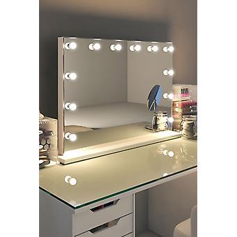 RGB Anastasia White Edge Mirror (Grand) Daglicht k313Mcwrgb