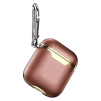 Protective case for AirPods-Etui - Brown / Gold
