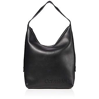 Calvin Klein Attached Hobo - Black Women's Shoulder Bags (Black) 1x1x1 cm (W x H L)