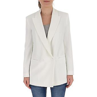 Pinko 1g14up7624z05 Women's White Cotton Blazer