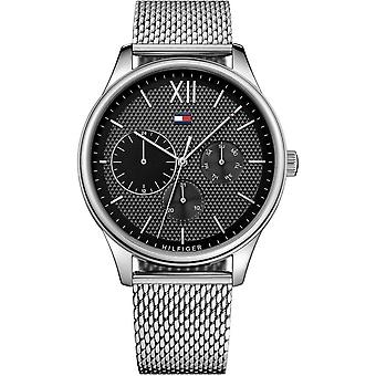 Tommy Hilfiger Watches 1791415 Men's Silver Stainless Steel Multi Dial Watch