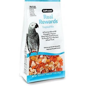 ZuPreem Snacks para Loros y Aves Grandes Tropical Mix (Birds , Bird Treats)