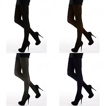 Silky Womens/Ladies 200 Denier Appearance Fleece Tights (1 Pair)