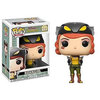 Funko Pop! Vinyl DC Bombshells Hawkgirl Collectable Figurine Model #223