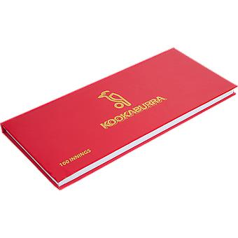 Kookaburra Scorebook Scorebook Cricket Accessory Book - 100 Innings