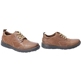 Hush Puppies Mens Apollo Lace Up Chaussure en cuir