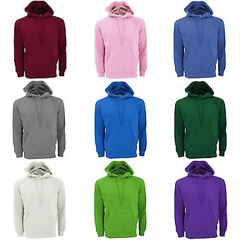 SG Mens Plain Hooded Sweatshirt Top / Hoodie