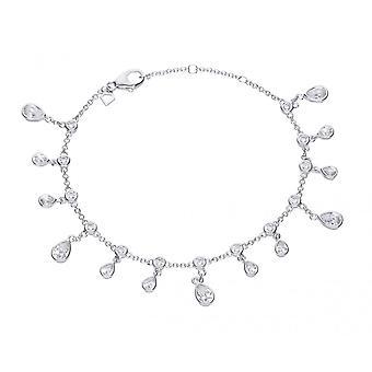 Bracelet Diamonfire Silver et White Zirconia Teardrop