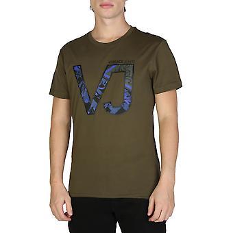 Versace Jeans Original Män Året T-Shirt - Grön färg 32224