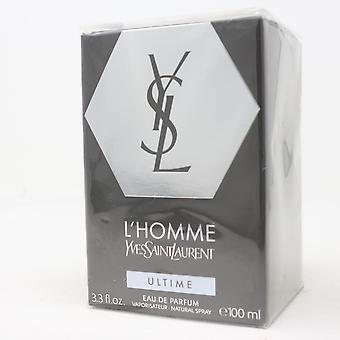 L'homme Ultime by Yves Saint Laurent Eau De Parfum 3.3oz Spray New With Box
