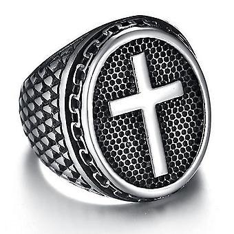 Cross knight templar ring