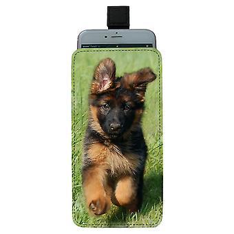 German German Shepherd Dog Puppy Pull-up Mobile Bag