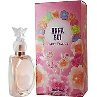 EST di Anna Sui Fairy Dance Secret Wish Eau de Toilette 75ml Spray