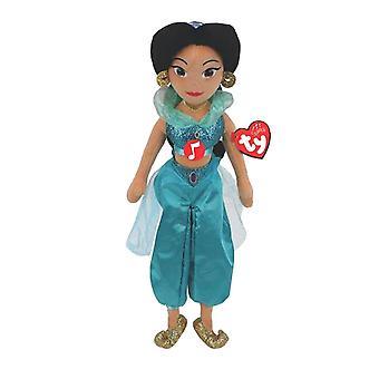 Disney Princess Jasmine TY Beanie Medium Plush Toy with Sound