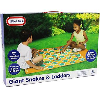 Giant Snakes and Ladders Game - Bees and Caterpillars Edition