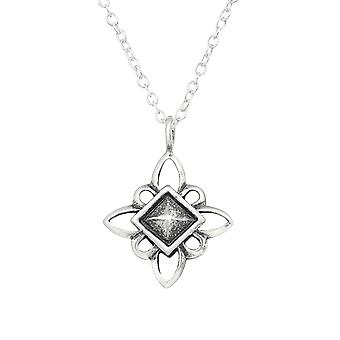 Star - 925 Sterling Silver Plain Necklaces - W30885x
