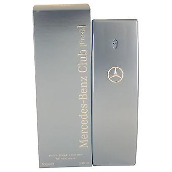 Mercedes Benz Club Fresh Eau De Toilette Spray By Mercedes Benz 3.4 oz Eau De Toilette Spray