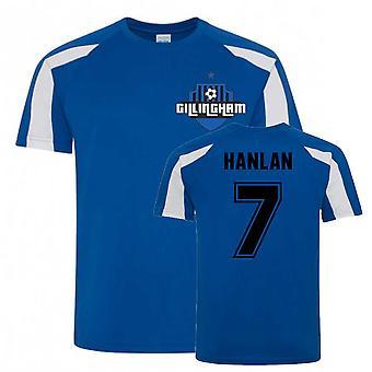 Brandon Hanlan Gillingham Sports Træning Jersey (Blå)