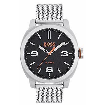 Hugo Boss Orange Kapstadt Edelstahl Mesh Armband Herrenuhr 1550013