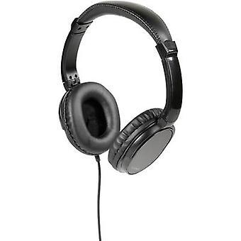 Vivanco TV COMFORT 70 TV Lukkede hodetelefoner Over øret Svart
