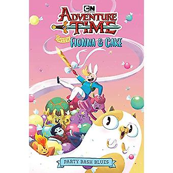 Adventure Time With Fionna & Cake - Party Bash Blues by Pendleton