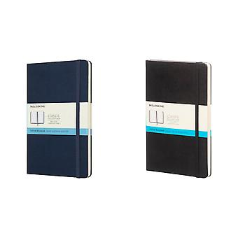 Moleskine Classic L Hard Cover Dotted Notebook