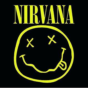 Nirvana Coaster Smiley face band logo new Official 9.5cm x 9.5cm single drink