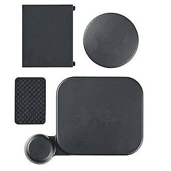 Boliger Lens Cap Camera Lens Cap Batteri Cover Side Dør til GoPro Hero 3 + / 4