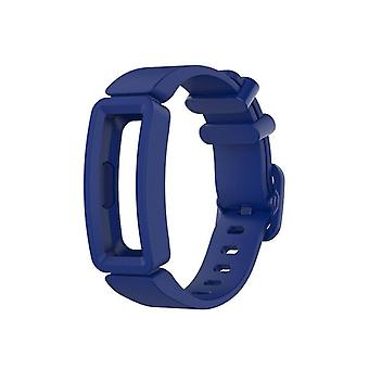Replacement Silicone Band Strap Bracelet for Fitbit Ace 2/Inspire/Inspire HR[Blue]