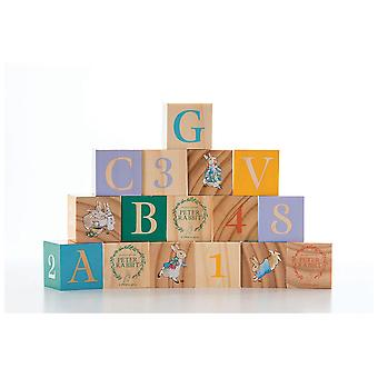 Rainbow Designs Peter Rabbit Wooden Picture Blocks
