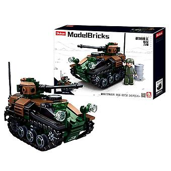Sluban ModelBricks, Kit - Wiesel Tankett 2-in-1