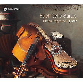 Bach*J.S. / Hoppstock - Tilman Hoppstock Plays Cello Suites for Guitar [CD] USA import