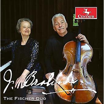 Brahms / Fischer Duo / Fischer - Brahms Cello Sonatas [CD] USA import