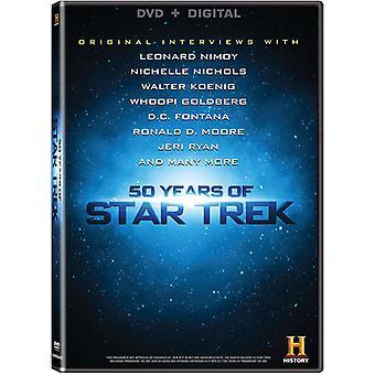 50 Years of Star Trek [DVD] USA import