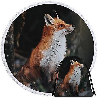 جميلة فوكس بيتش منشفة
