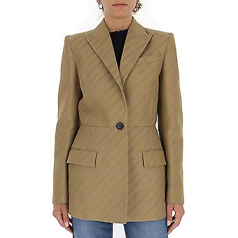 Givenchy Bw30b912yf250 Damen's Beige Wolle Blazer