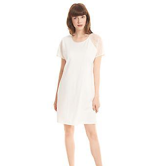 Féraud High Class 3201152-11697 Women's Ivory Cotton Nightdress