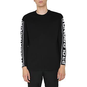 Stella Mccartney 601854smp851000 Heren's Zwart Katoen Sweatshirt