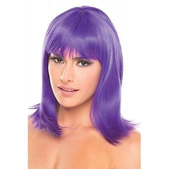 Doll Wig - Purple