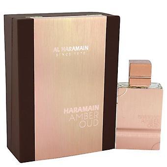 Al-Haramain Amber Oud Eau De Parfum Spray (Unisex) av Al-Haramain 2 oz Eau De Parfum Spray