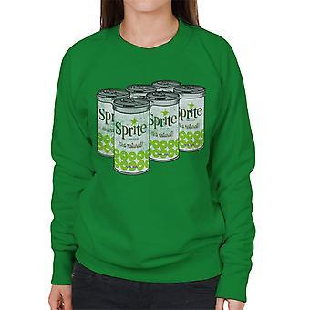 Retro Sprite Cans 1960er-Jahren Logo Women es Sweatshirt