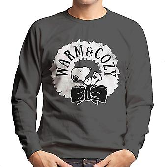 Peanuts Snoopy Warm And Cozy Men's Sweatshirt
