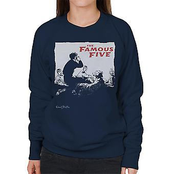 Enid Blyton The Famous Five Group Together Women's Sweatshirt