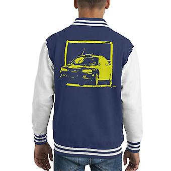 Motorsport Images Subaru Impreza WRC Yellow Kid's Varsity Jacket