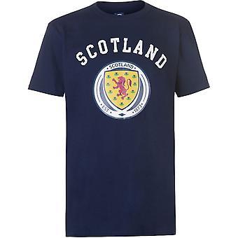 Source Lab Scotland Crest T-Shirt Mens