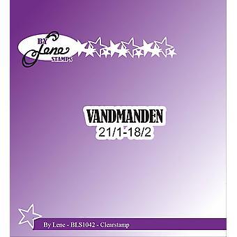 Par Lene Clearstamp Vandmanden (Textes danois) (BLS1042)