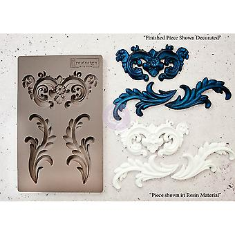 Re-Design com prima everly flourish 5x8 polegadas molde