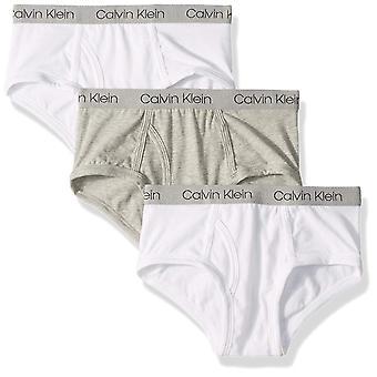 Calvin Klein Big Boys' Modern Cotton Assorted Briefs Underwear, Multipack, He...