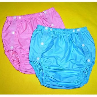 2pcs Adult  Non Disposable  Incontinence Pants Diapers For Adults